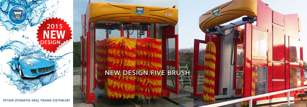 Brush Foam Car Washing Machines